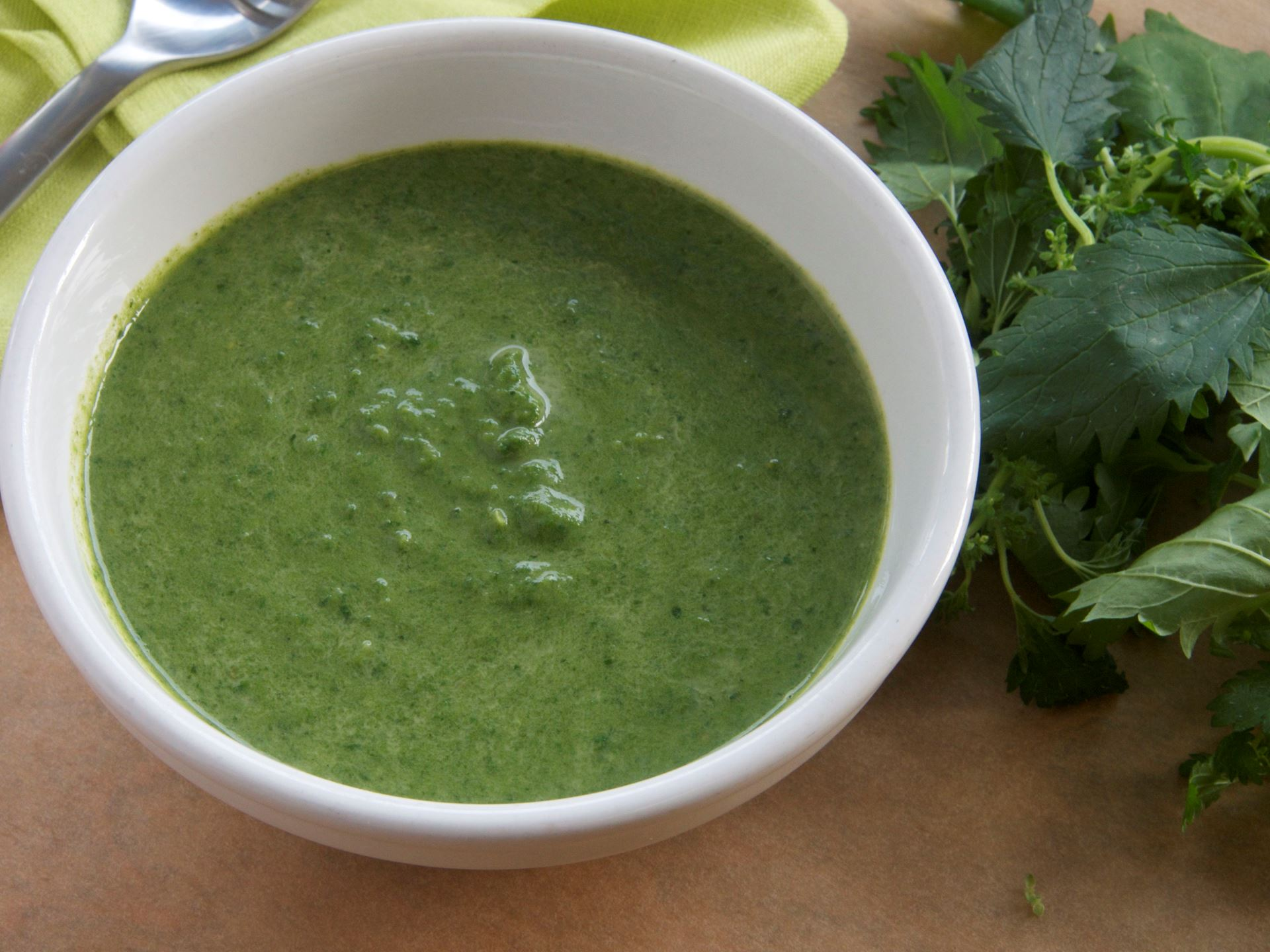 Picture of Creamy Nettle Soup (Vegetarian) - 22oz