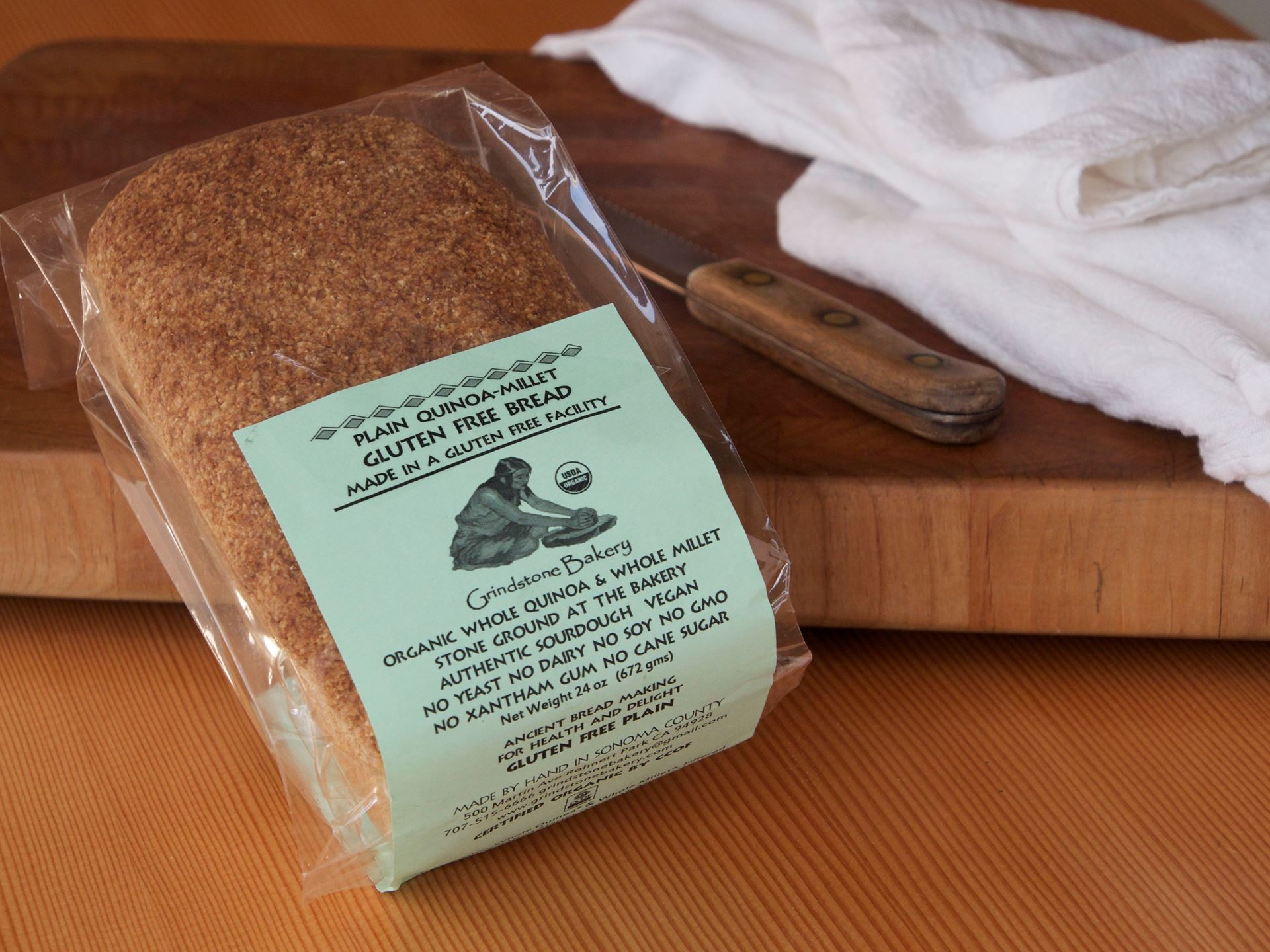 Picture of Grindstone Gluten-Free Plain Quinoa & Millet Loaf