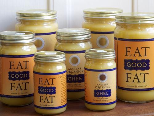 Picture of Ancient Organics Ghee 16 oz.