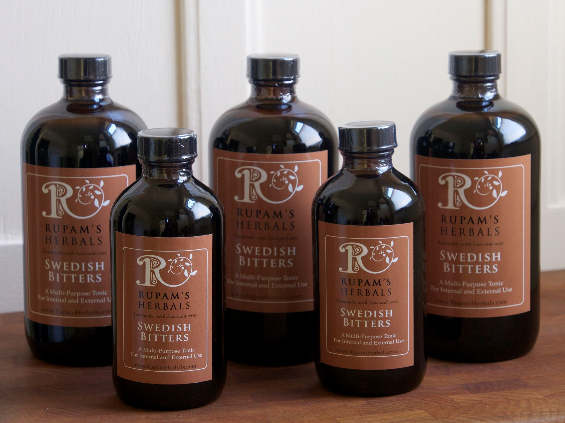 Picture of Rupam's Herbals Swedish Bitters 16 oz.