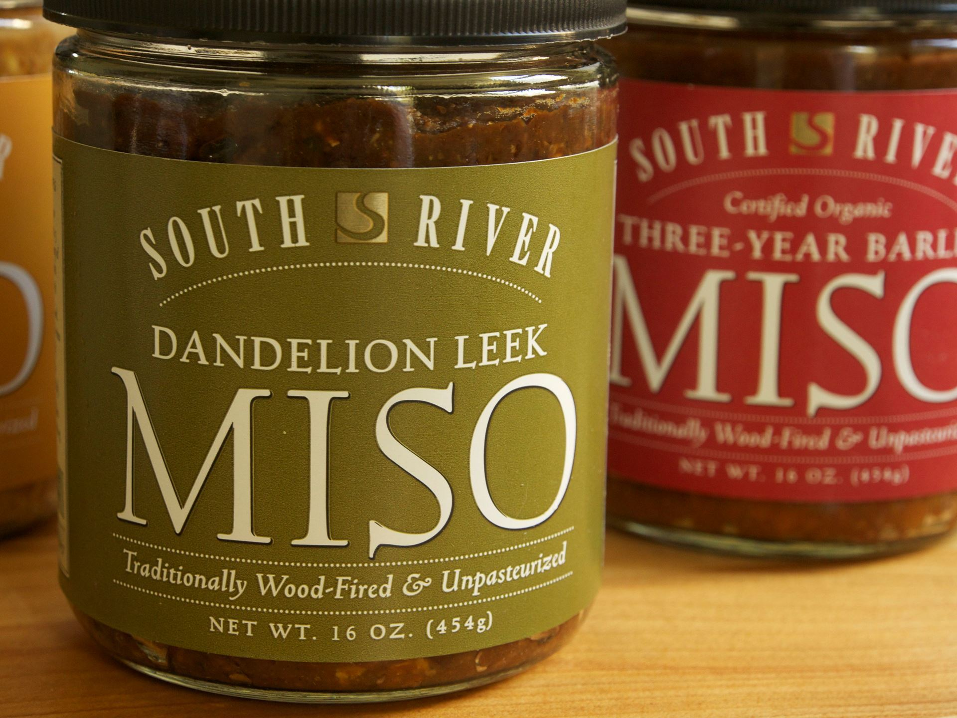 Picture of South River Dandelion Leek Miso