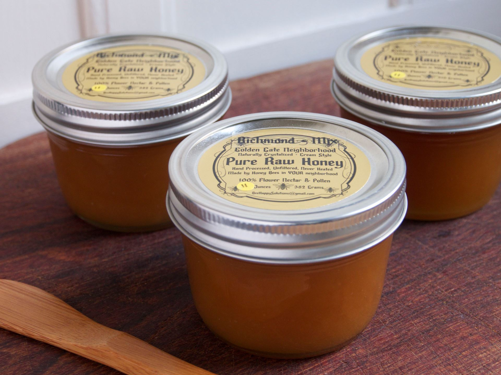 Picture of Raw Local Honey Golden Gate Neighborhood