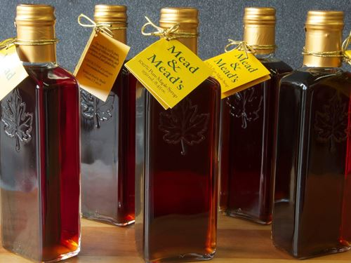 Picture of Mead & Mead's Grade A Maple Syrup (small)