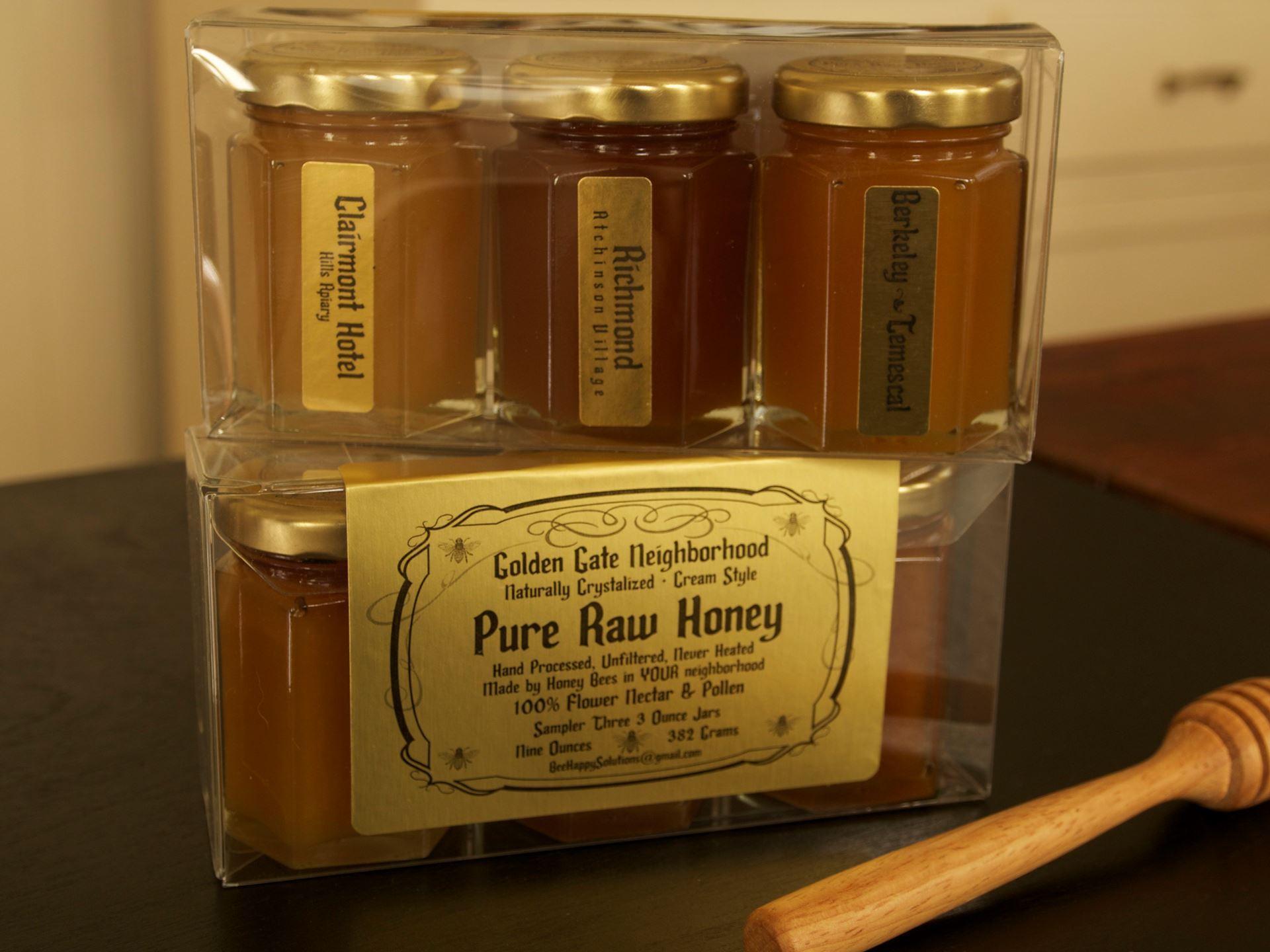 Picture of Raw Honey Trio- Golden Gate Neighborhood