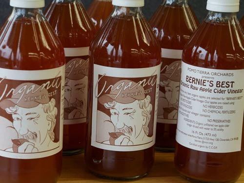 Picture of Bernie's Best Raw Apple Cider Vinegar