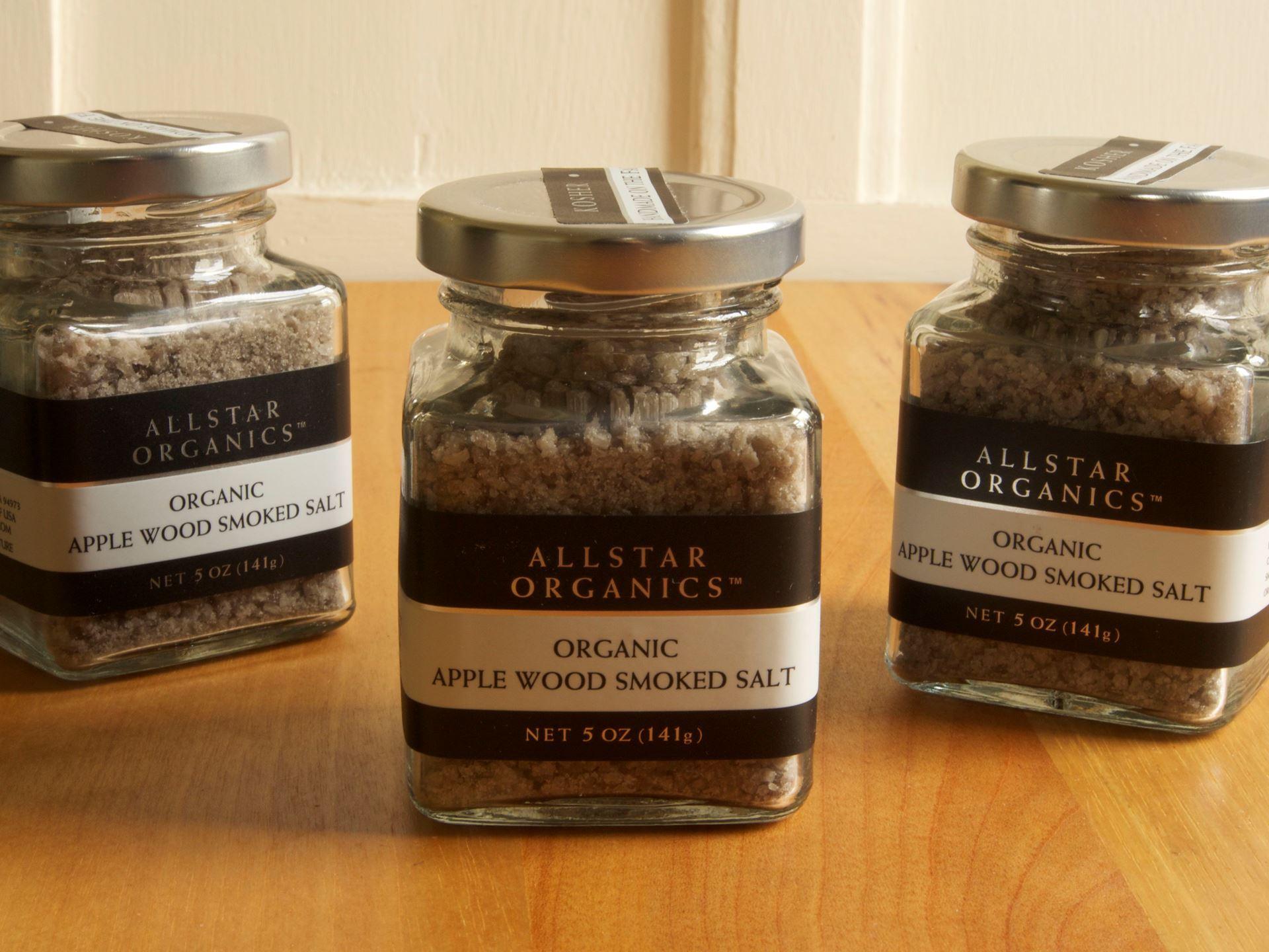 Picture of Allstar Organics Applewood Smoked Salt