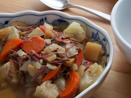 Picture of Frozen -- Corned Beef & Cabbage Stew 22 oz.