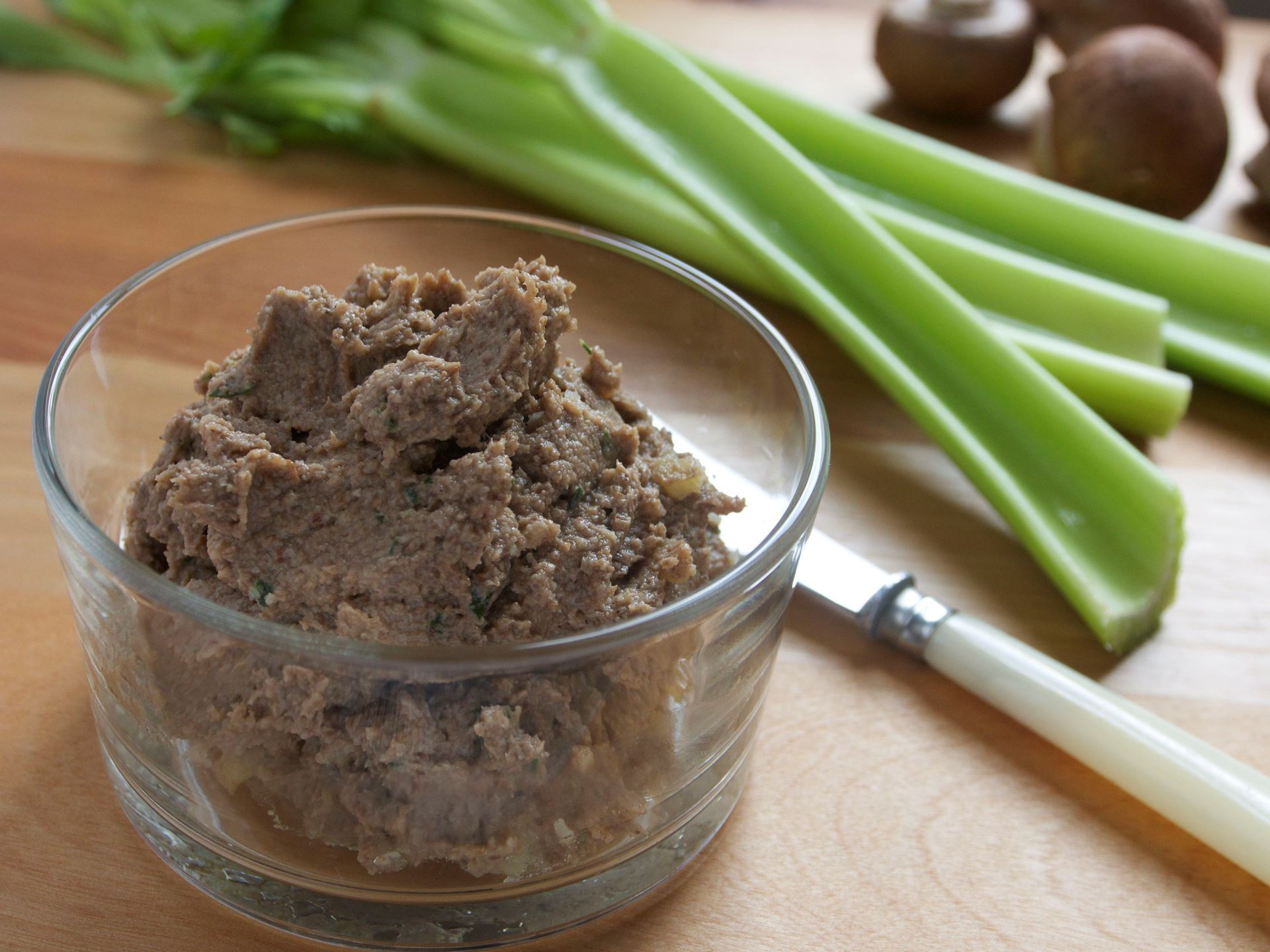 Picture of Frozen -- Mushroom & Walnut Pâté  (Vegetarian)