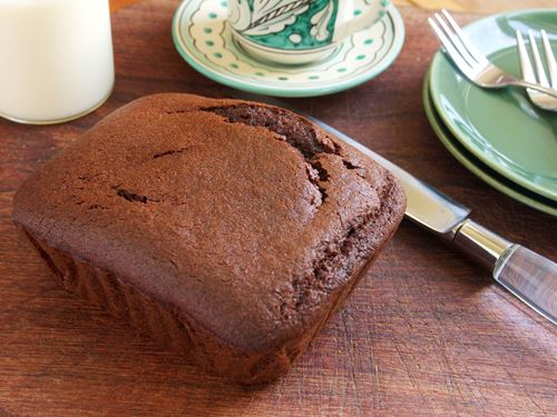 Picture of Frozen -- Chocolate Olive Oil Cake