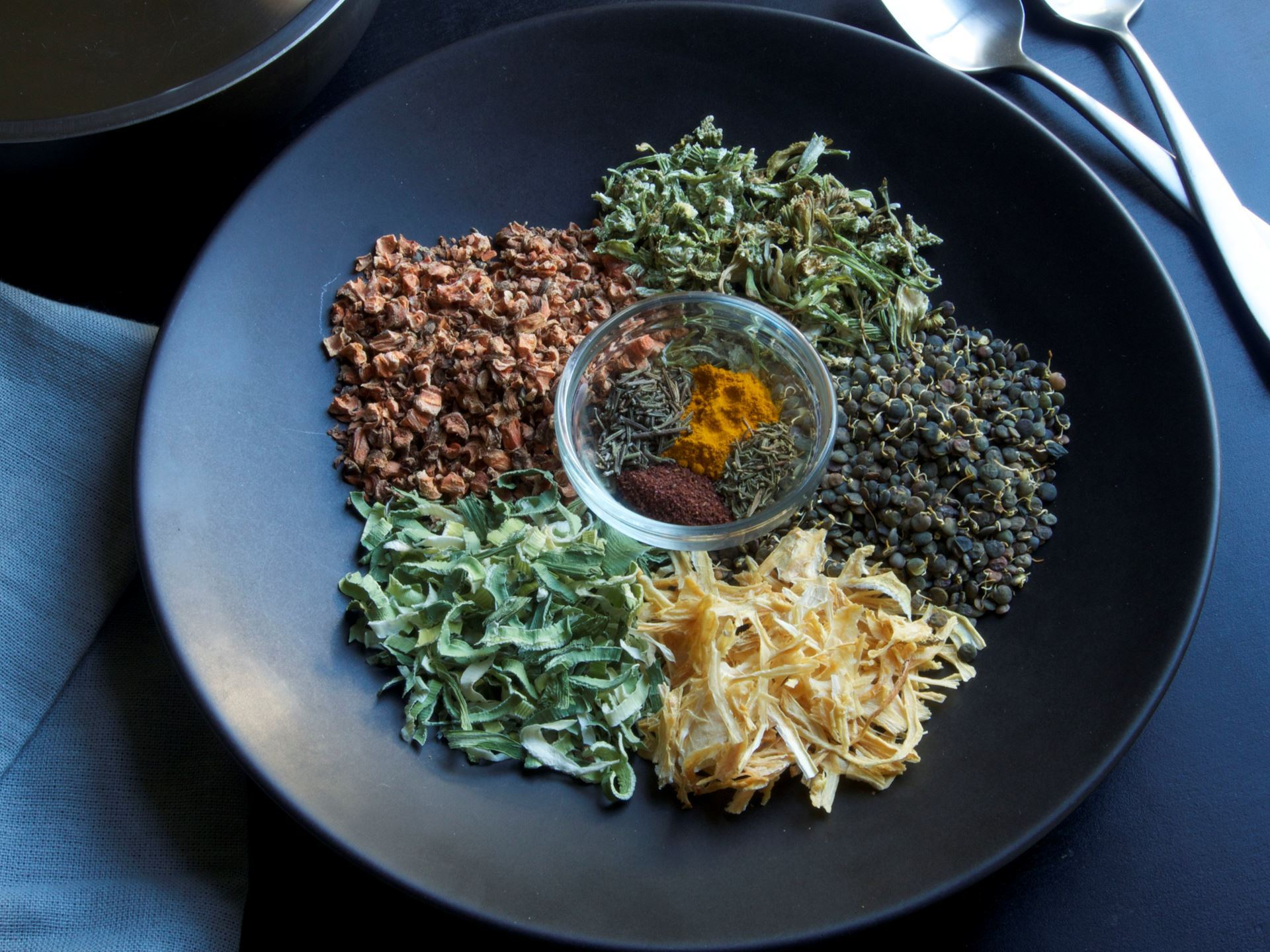 Picture of Dried Lentil and Greens Soup Mix (Vegan)