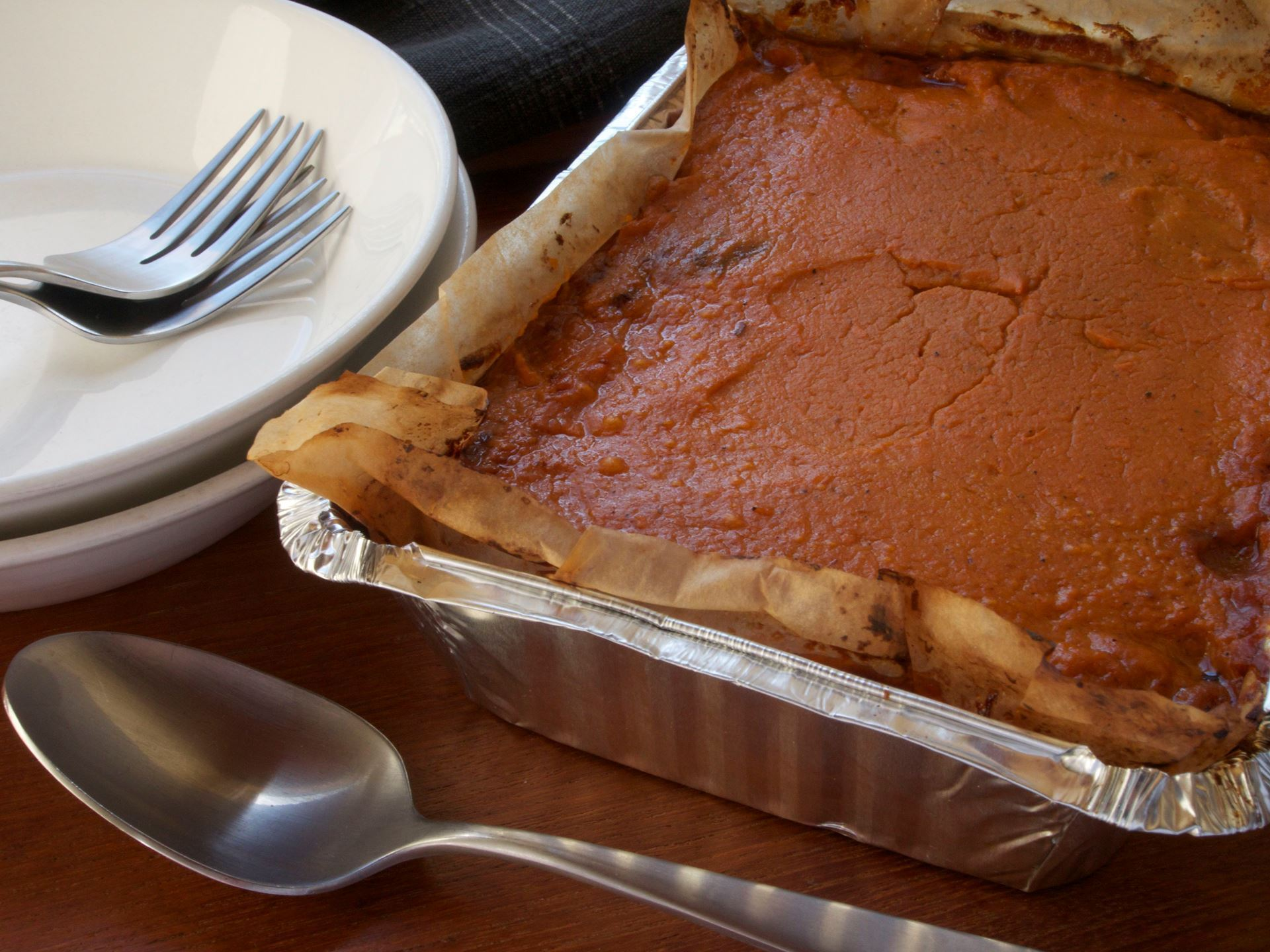 Picture of Frozen -- Pulled Pork and Sweet Potato Pie