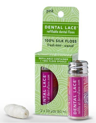 Picture of Dental Lace - refillable dental floss Pink