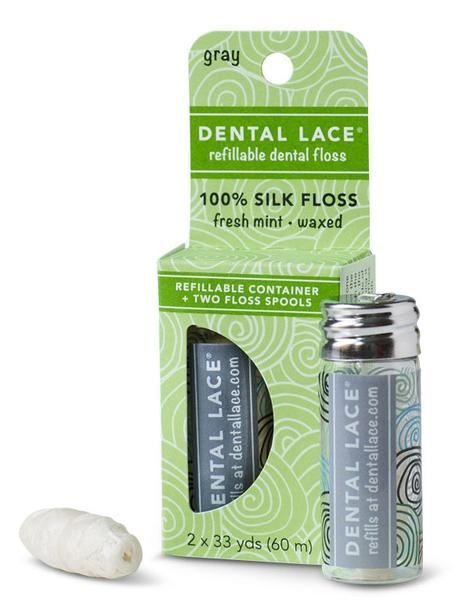 Picture of Dental Lace - refillable dental floss gray
