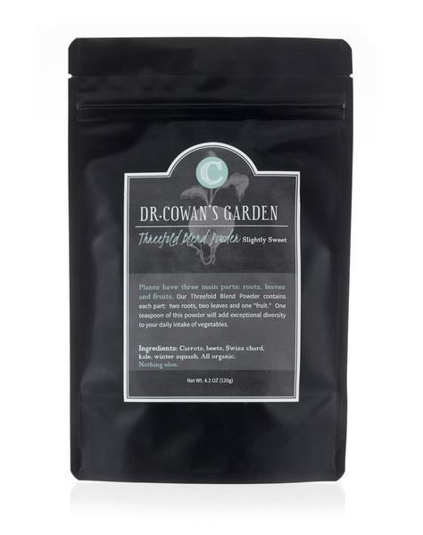 Picture of Dr. Cowan's Garden Threefold Blend Powder Refill Pouch (slightly sweet)