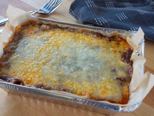 Picture of Frozen -- Picadillo and Black Bean Pie