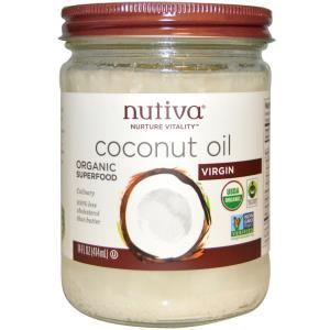 Picture of Nutiva Virgin Coconut Oil 14 oz