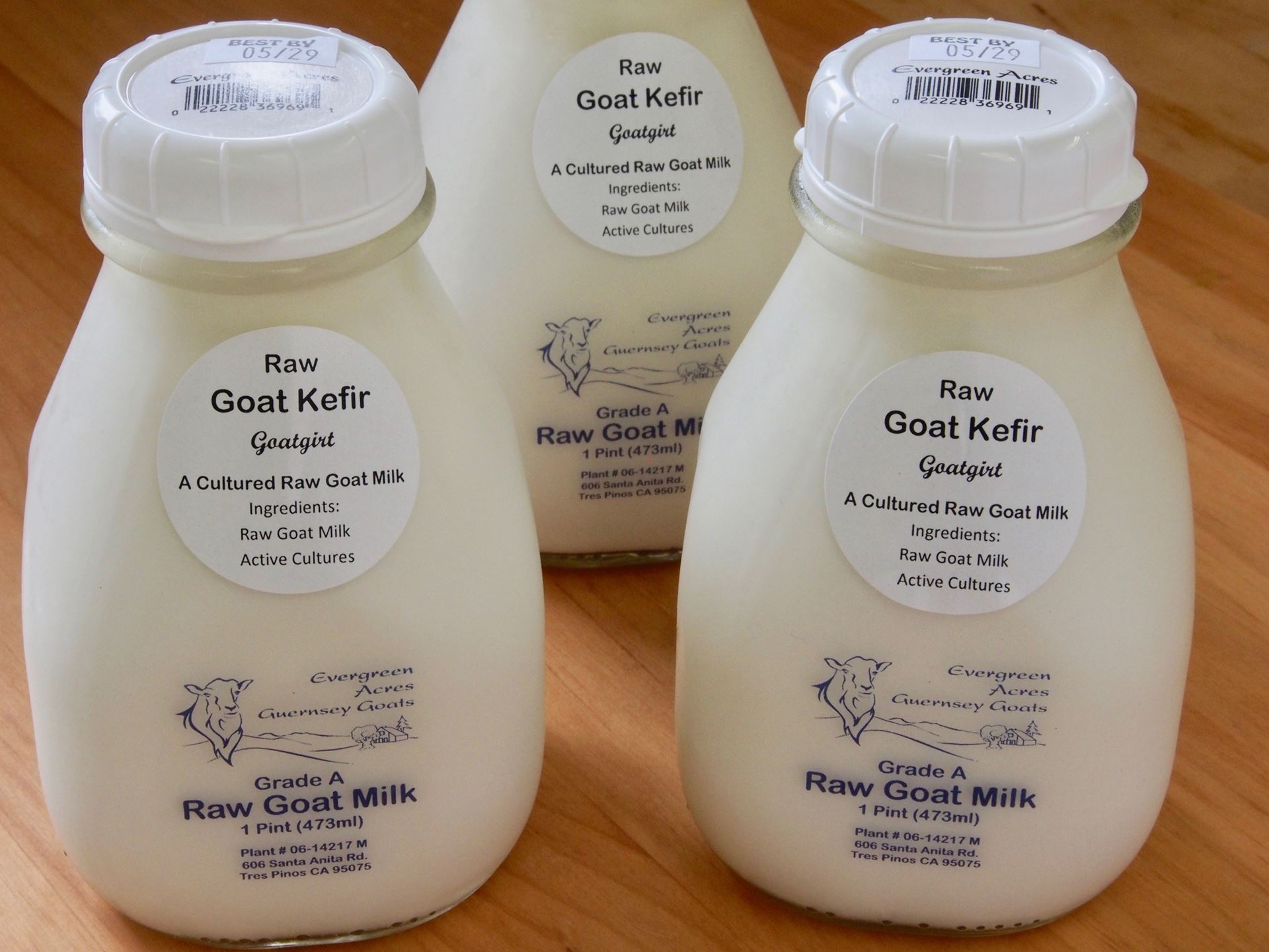 "Picture of Evergreen Acres Goat Milk Kefir ""Goatgurt"""