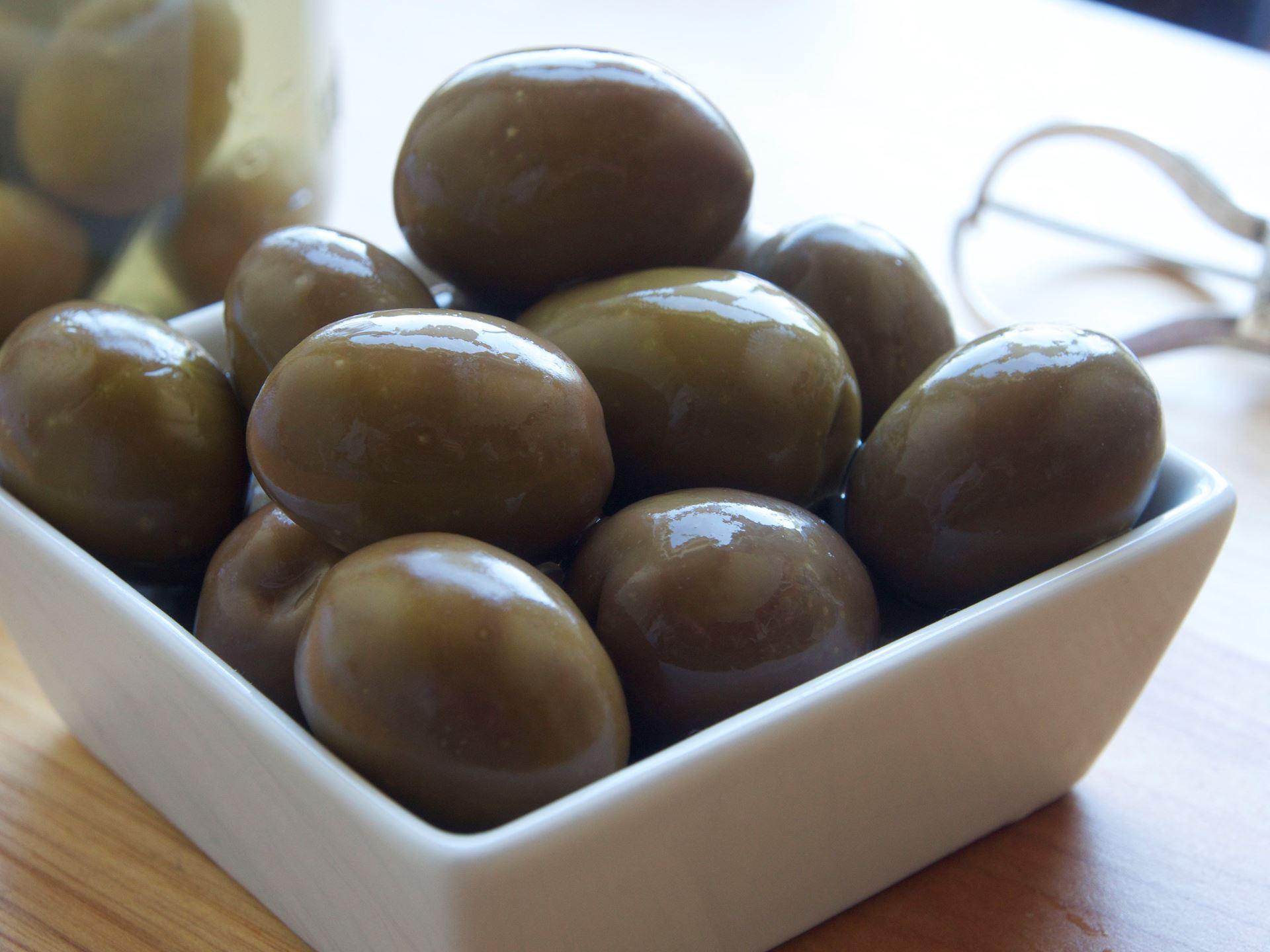 Picture of Good Faith Farm Tree Ripened Raw Sevillano Olives