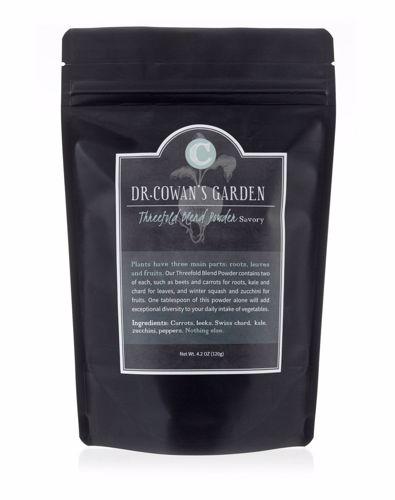 Picture of Dr. Cowan's Garden Threefold Blend Powder Refill Pouch (savory)