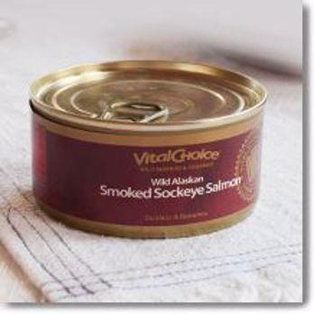 Picture of Vital Choice Wild SMOKED Alaskan Sockeye Salmon