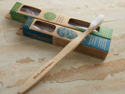 Picture of Brush with Bamboo Adult Toothbrush
