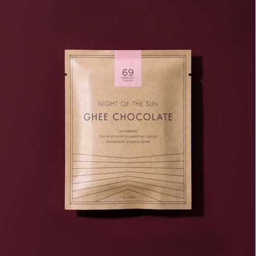 Picture of Night of the Sun Ghee Chocolate 69% Bar