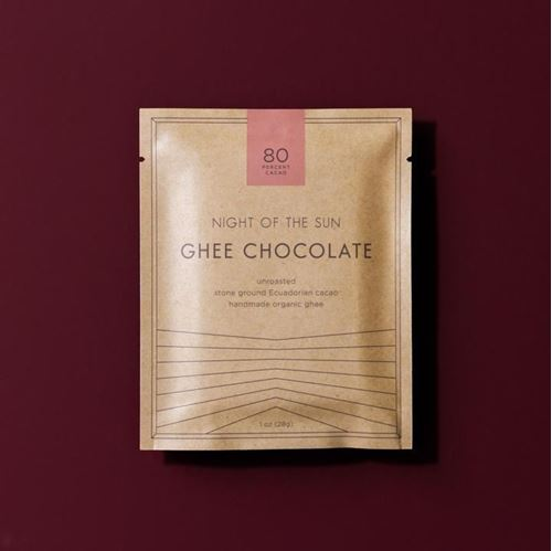 Picture of Night of the Sun Ghee Chocolate 80% Bar