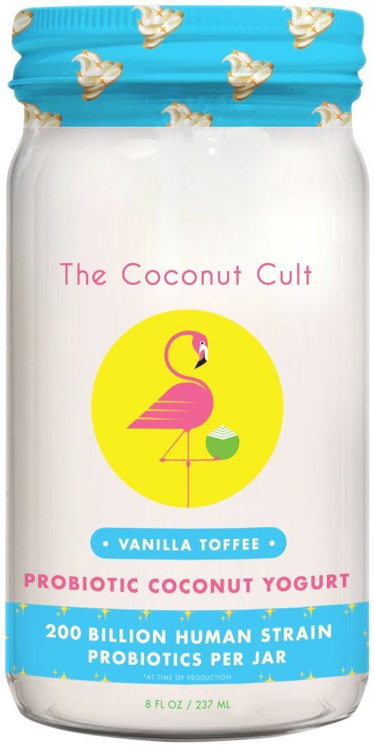 Picture of The Coconut Cult, Vanilla Toffee Coconut Yogurt 8oz