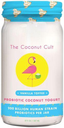 Picture of The Coconut Cult, Vanilla Toffee Coconut Yogurt 8oz