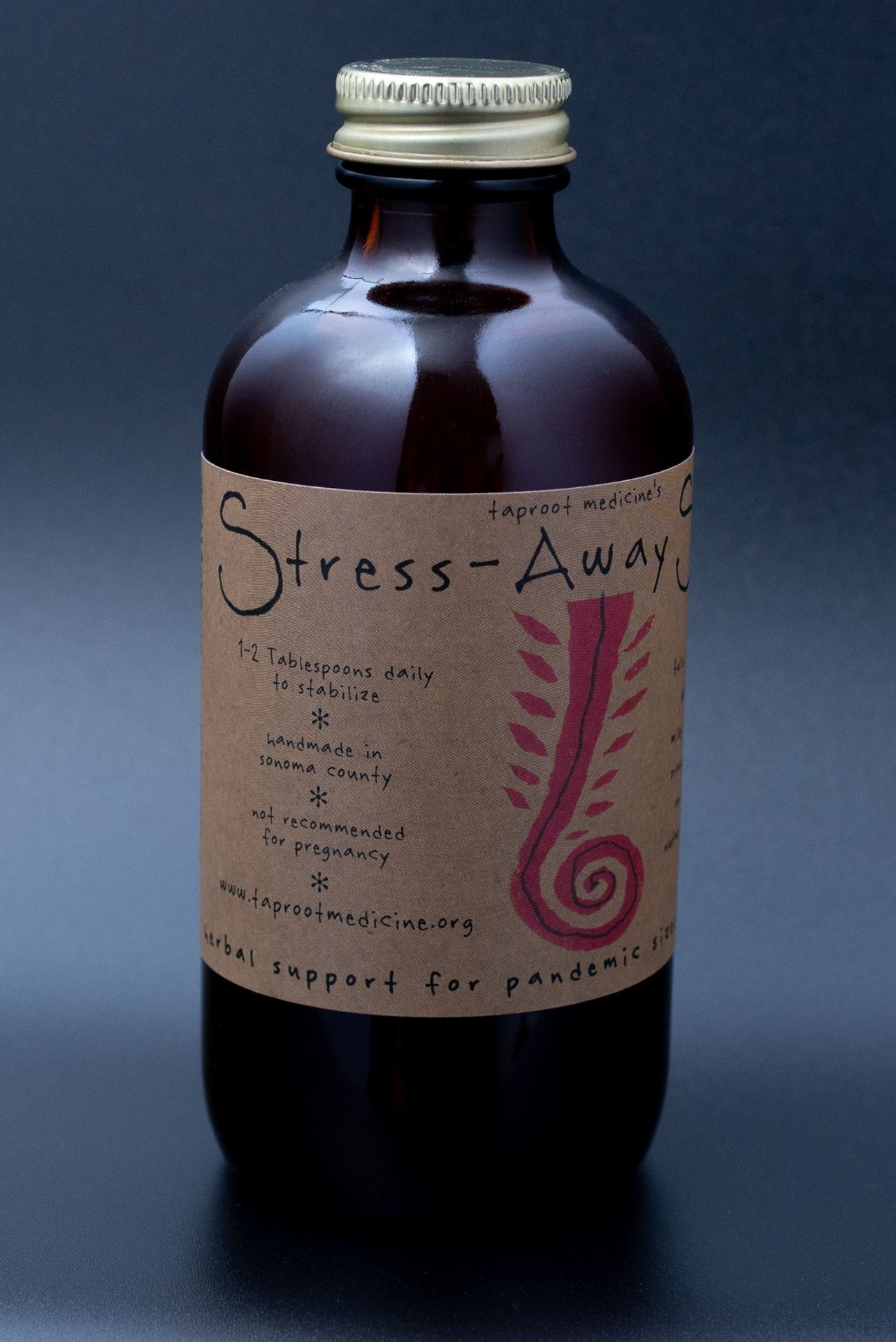 Picture of Taproot Medicine Stress-Away Syrup