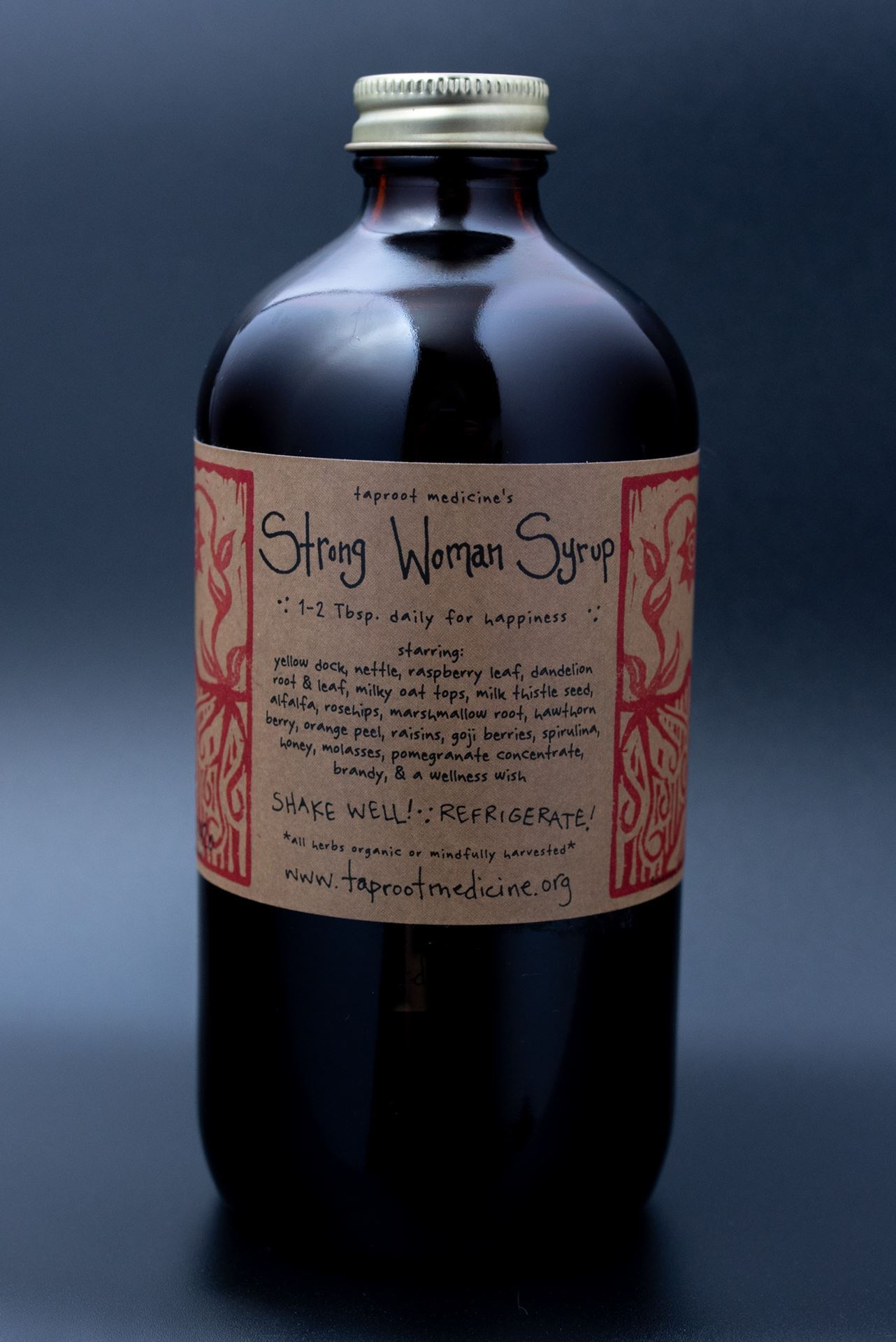 Picture of Taproot Medicine Strong Woman Herbal Syrup