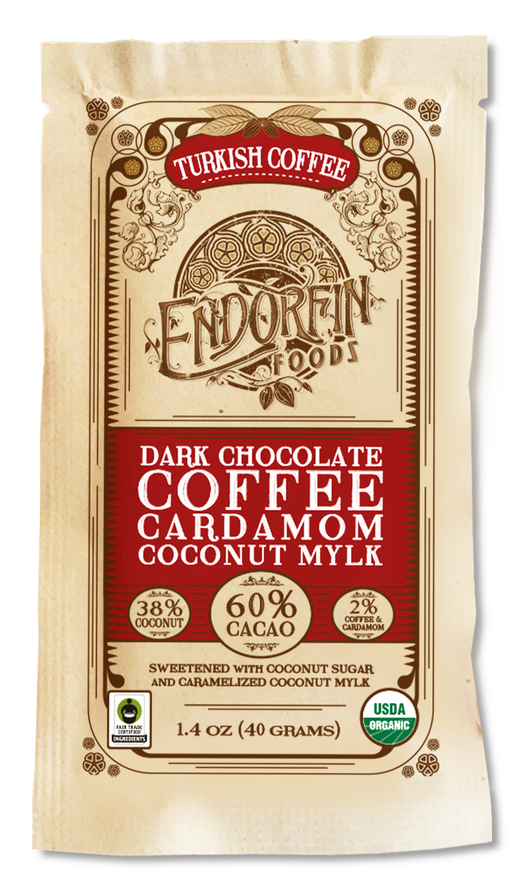 Picture of Endorfin Turkish Coffee Chocolate Bar