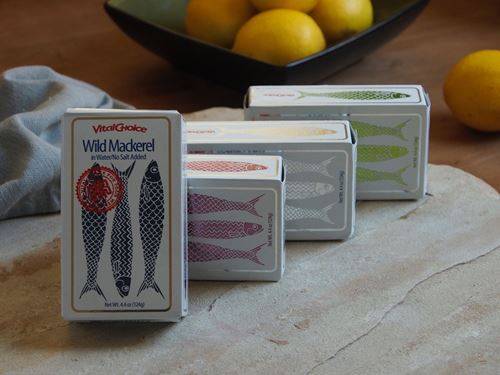 Picture of Vital Choice Mackerel In Water (No Salt Added)