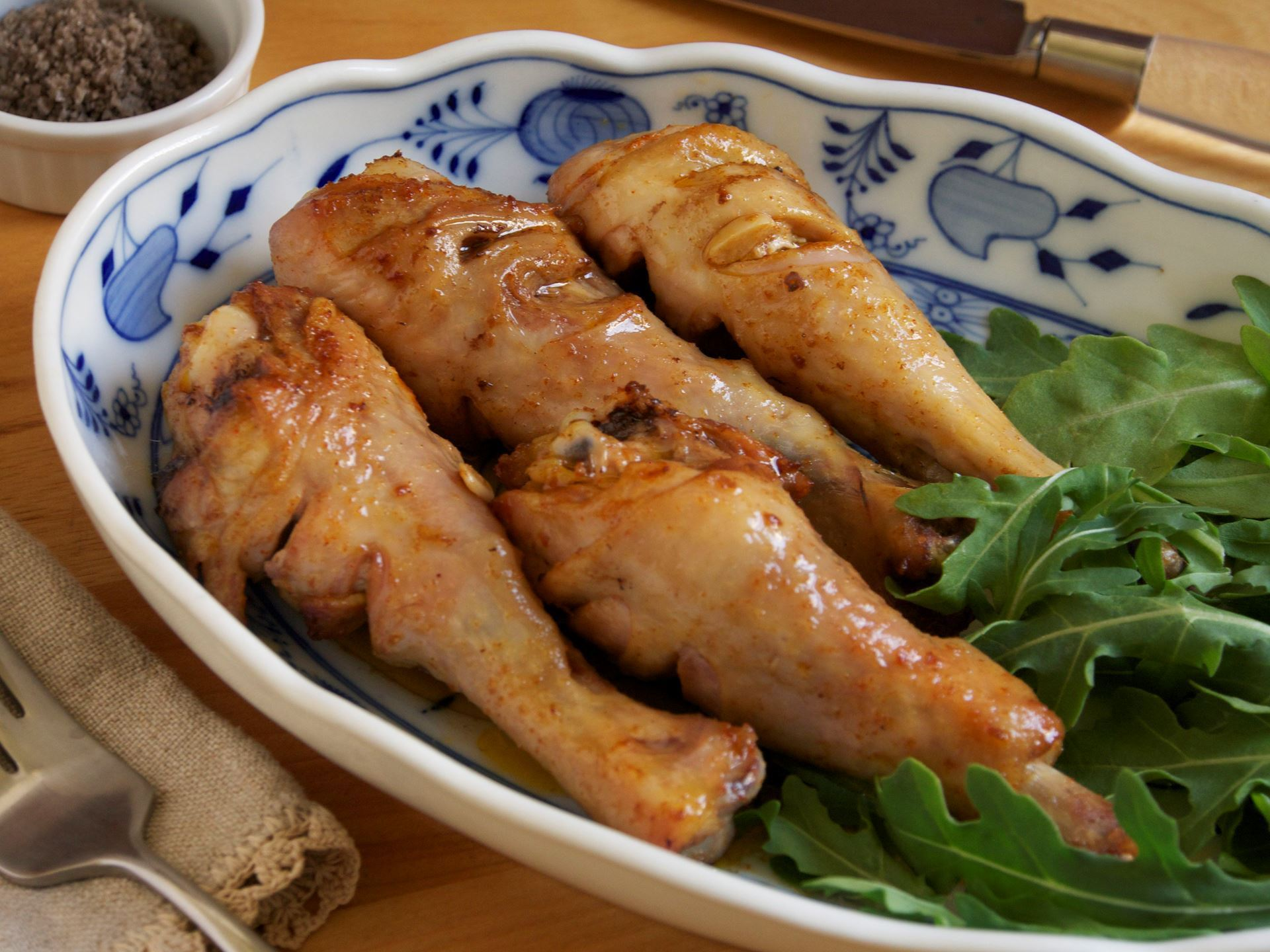 Picture of Salvadoran Marinated Chicken Legs -- Frozen & RAW