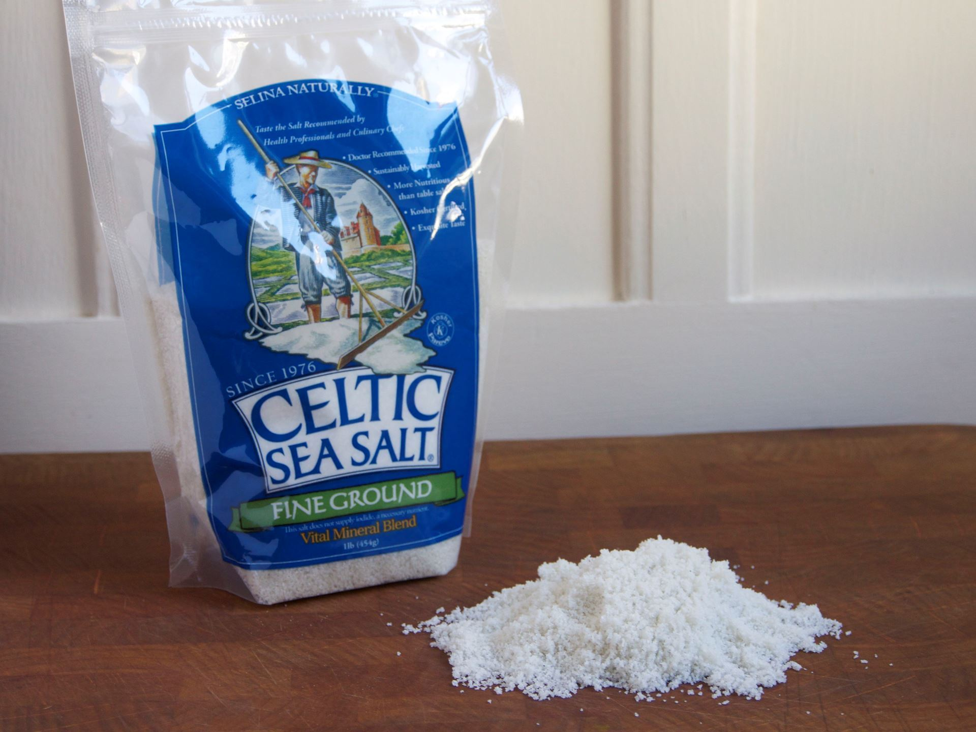 Picture of Celtic Sea Salt - Fine (8 oz. bag)