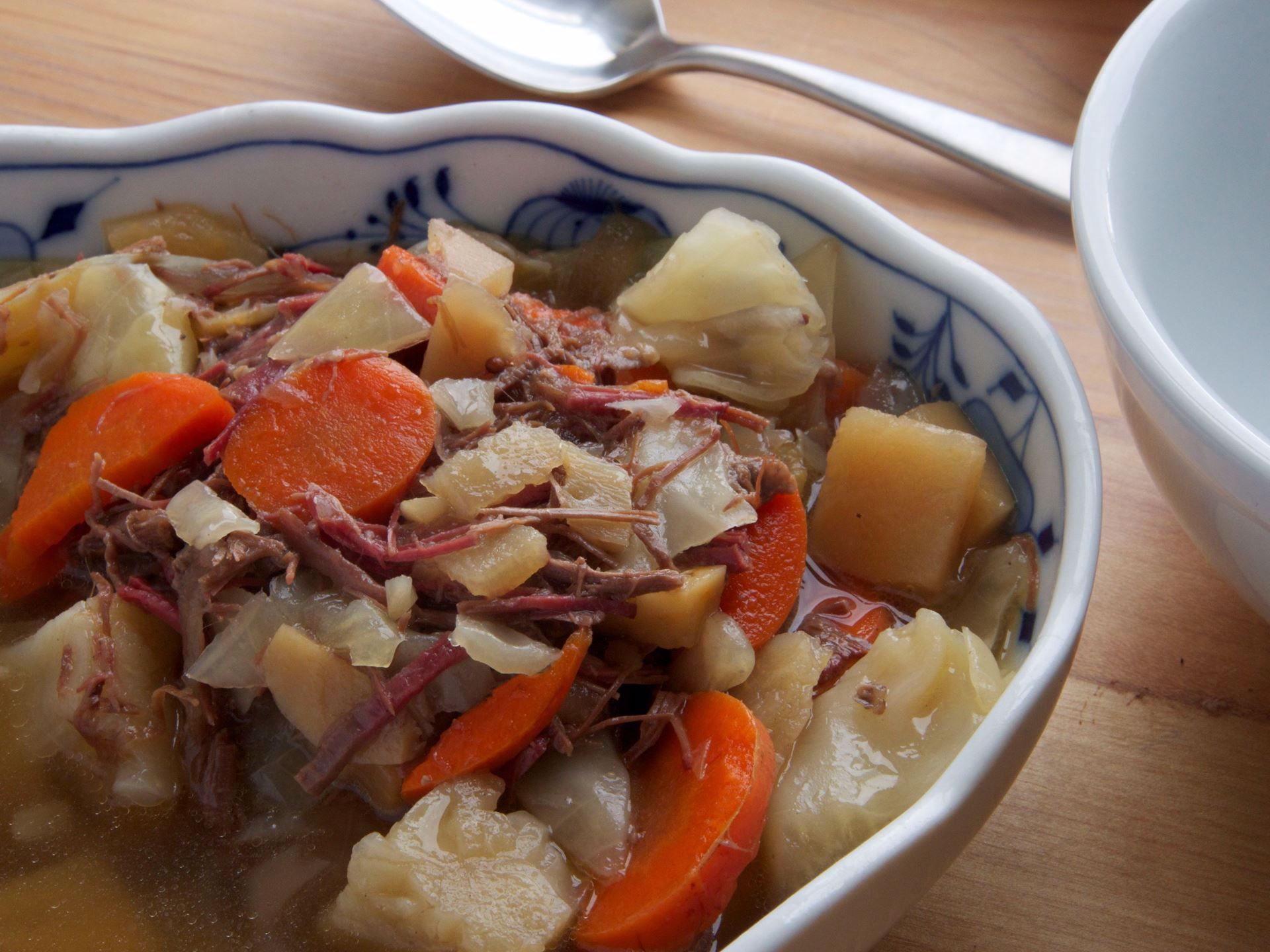 Picture of 22 oz -- Corned Beef & Cabbage Stew