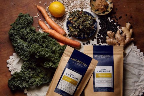 Picture of Kale Chips BAG: Lemon Ginger Miso by Kaleidoscope
