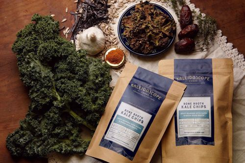 Picture of Kale Chips BAG: Spicy Seaweed with Dates and Bison Bone Broth by Kaleidoscope