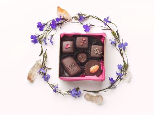 Picture of For the Love of Chocolate 6 Piece Truffle Box
