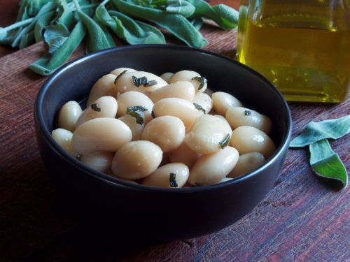 Picture of Frozen -- White Beans with Leeks and Olive Oil