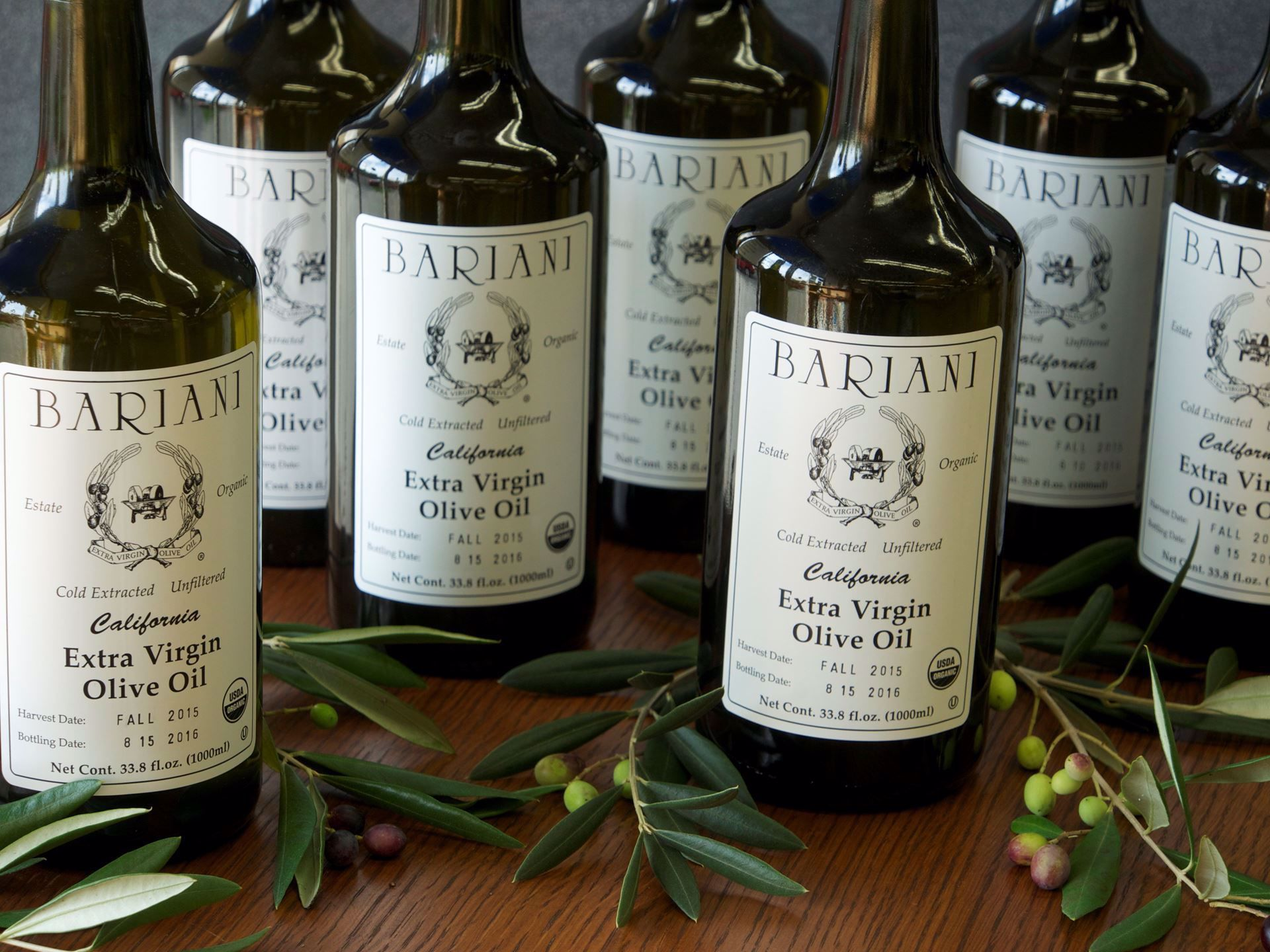 Picture of Bariani Extra Virgin Olive Oil (small bottle)
