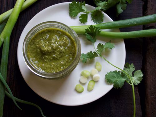 Picture of Frozen -- Cilantro and Scallion Pesto (Vegetarian)